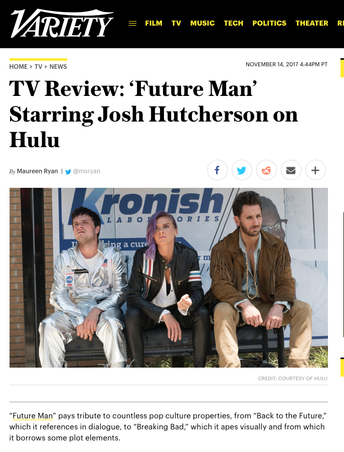 Future Man Press III